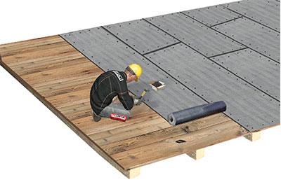 flachdach genutzt untergrund holz bitumin s abgedichtet begr nt glapor. Black Bedroom Furniture Sets. Home Design Ideas