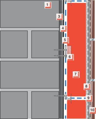 Innendammung Wand Mit Fliesen System 1 Glapor